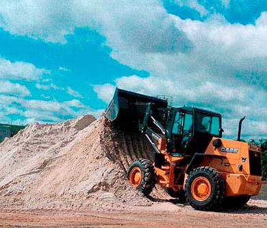 Depósito de areia Grantel